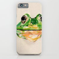 iPhone & iPod Case featuring BachelorFrog by withapencilinhand