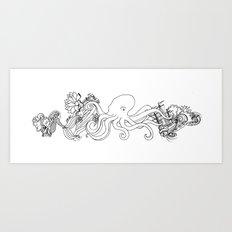 Hidden Treasure Art Print