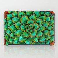 Succulent Mandala iPad Case
