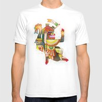 Serpent Bearer Mens Fitted Tee White SMALL