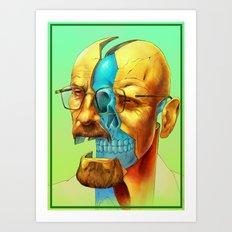 Breaking Bad / Broken Ba… Art Print
