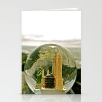 New York By The Sea Stationery Cards