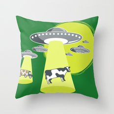Late Night Snack Throw Pillow