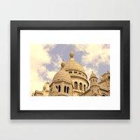Sacre Coeur Framed Art Print