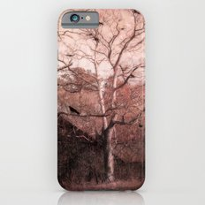 Vintage Barn Autumn Fall Gothic Raven Nature Slim Case iPhone 6s