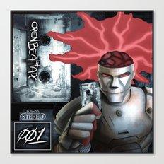 Open Beat Tape 001 - Cover Art - Print Canvas Print