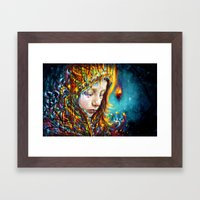 when it's cold outside Framed Art Print