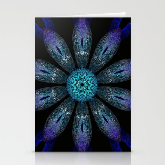 All Aglow Stationery Card