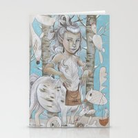 WINTER CENTAUR Stationery Cards