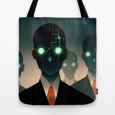 Microchip mind control Tote Bag