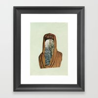 Traffic Goddess. Framed Art Print