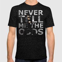 Star Wars Han Solo Quote Mens Fitted Tee Tri-Black SMALL