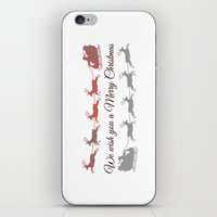 We wish you a Merry Christmas 1- Holidaze iPhone & iPod Skin