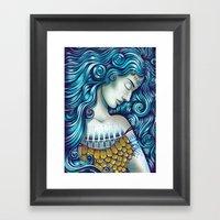 Calypso Sleeps Framed Art Print