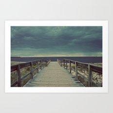 Nautica: Pathway to Horizon Art Print