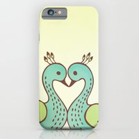 iPhone & iPod Case featuring Peacock Love by ItsJessica