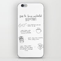 How to be an accidental hipster iPhone & iPod Skin