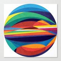 Turn Around Canvas Print