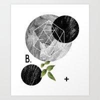 B-plus. Art Print