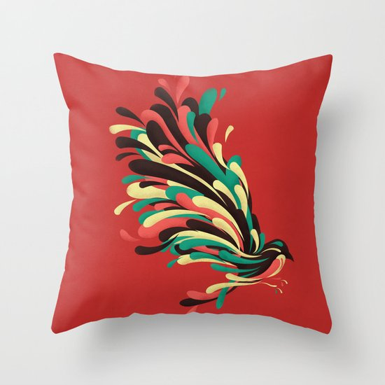 Avian Throw Pillow