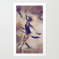 Shadow Dance Art Print