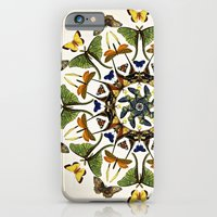 Kaleidoscope With Wings iPhone 6 Slim Case