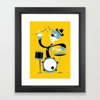 Drums Framed Art Print