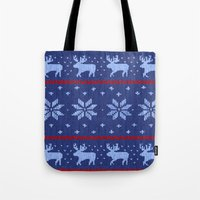Winter Lovers Christmas Tote Bag