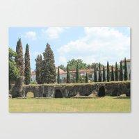 Roman Amphitheater Canvas Print