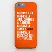iPhone & iPod Case featuring Trainspotting by Damien Koh