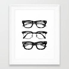 Go Hipster! Framed Art Print