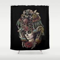 Day Of The Dead (Ancient… Shower Curtain