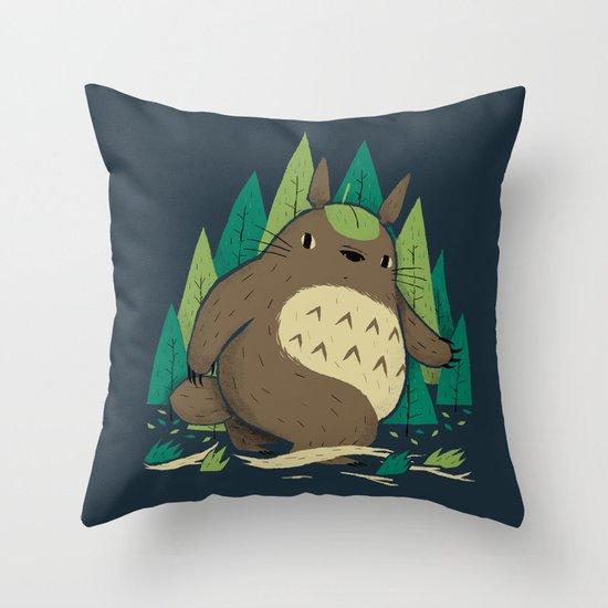 torofoot Throw Pillow