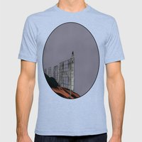 Hollywood Despair Mens Fitted Tee Tri-Blue SMALL