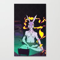 Hi-Speed Connection Canvas Print