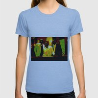 Cotton Club Legends Womens Fitted Tee Athletic Blue SMALL