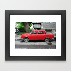 2010 - Eastern Block Ferrari Framed Art Print