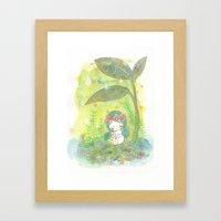 remember to breathe Framed Art Print