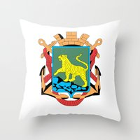 VLADIVOSTOK Throw Pillow