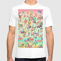 Schema 11 Mens Fitted Tee White SMALL