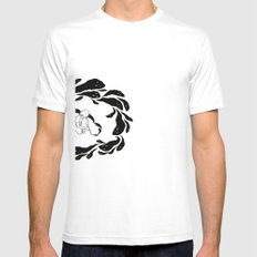The Inking Mens Fitted Tee White SMALL