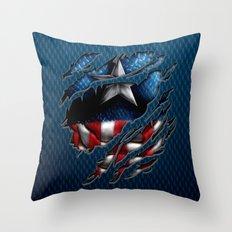 Vintage Classic Captain … Throw Pillow