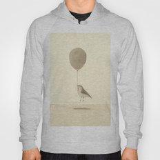 bird with a balloon Hoody