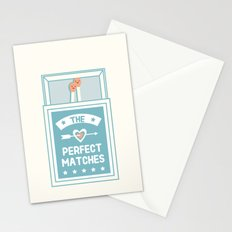 The Perfect Matches Stationery Cards