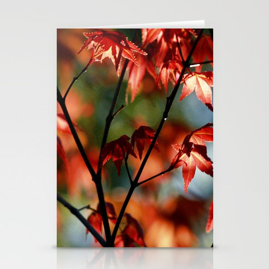 flora in flame Stationery Card