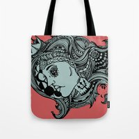 Phases Of The Moon, Lady… Tote Bag