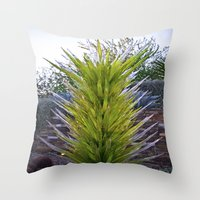 Chihuly  Throw Pillow