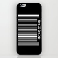 Barcode Inverse iPhone & iPod Skin