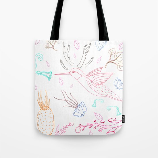 Humming Boyd  Tote Bag