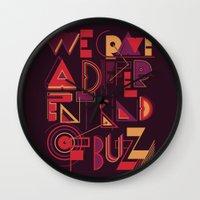 A Different Buzz Wall Clock
